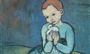 Pablo Picasso Child with a Dove, 1901