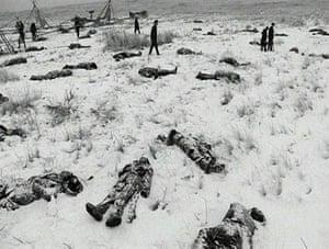 Wounded Knee massacre, 1890