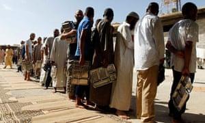 Libyan soldiers in Misrata jail