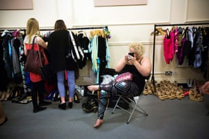 London Plus Size Fashion: Backstage at Shoreditch Town Hall