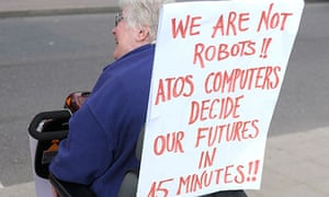 Atos has been the target of protests by disabled people demonstrating against cuts in their benefits