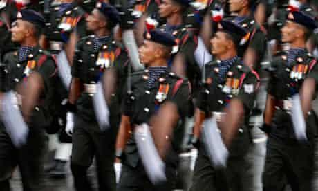 Sri Lanka Britain arms trade