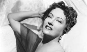 Gloria Swanson portrait 1950