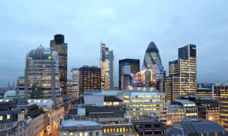 Square Mile in London, the city's financial district