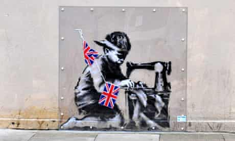Banksy on Poundland