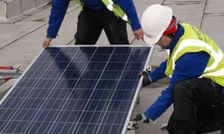 Newnham Croft solar panels