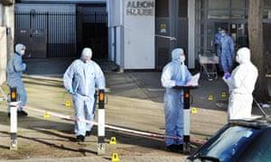 Wandsworth crime scene