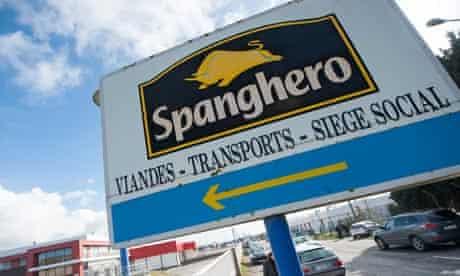 Spanghero sign