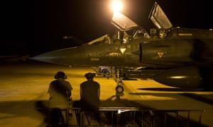 A French Mirage 2000 fighter jet of the Nancy-based 3/3 Fighter Squadron Ardennes gets ready for a Close Air Support (CAS) mission from Bamako's airport. European Union foreign ministers formally approved the launch of a 500-strong EU military mission to train the Malian army, which has already begun work on the ground.