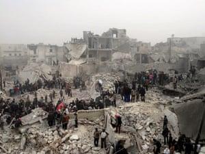 Aleppo missile strike Jabal Bedro