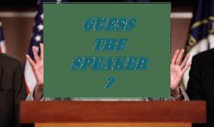 Pelosi question mark