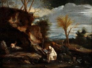 Art Fund: Pier Francesco Mola, Landscape with Two Carthusian Monks