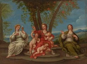 Art Fund: Francesco Albani, Faith, Hope and Charity