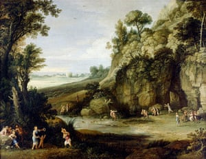 Art Fund: Paul Bril, Mythological Landscape with Nymphs and Satyrs