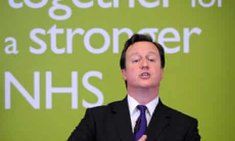 David Cameron reassures NHS staff 16 May 2011