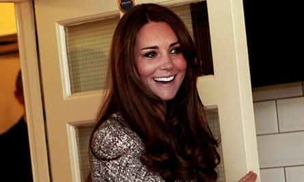 Duchess of Cambridge at Hope House, London