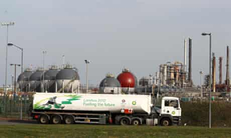 oil tanker grangemouth