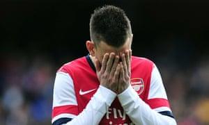 Arsenal centre-half Laurent Koscielny