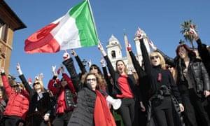'One Billion Rising' flashmob, Rome 14/2/13