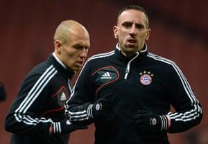 football: Franck Ribery