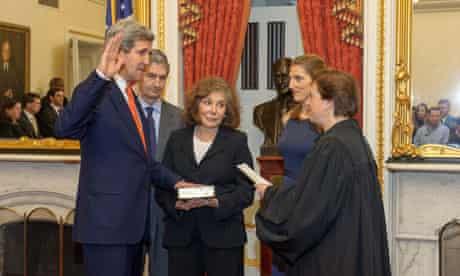 john kerry sworn in secretary state