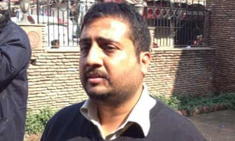 Sunil Kapoor, whose great grandfather died in the Amritsar massacre