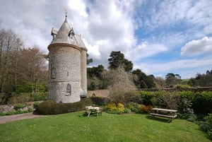 south cornwall: The Water Tower, Trelissick