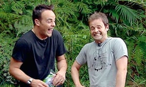 Anthony McPartlin and Declan Donnelly on I'm A Celebrity…