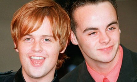 Ant and Dec in 1996