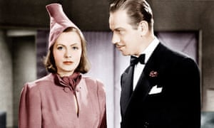 Greta Garbo and Melvyn Douglas in Ninotchka, 1939