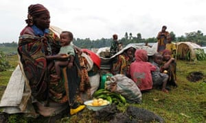 Refugees from DR Congo in Uganda