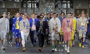 Kenzo men's spring/summer 2012 collection