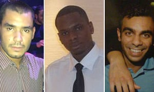 Britons Grant Cameron, Karl Williams and Suneet Jeerh have been held in Dubai for seven months