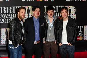 Brits 2013 red carpet: Brit Awards 2013 - Arrivals - London