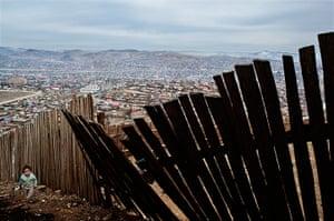 CIWEM competition winners: Environmental migrants: the last illusion. Ulaan Baator, Mongolia.