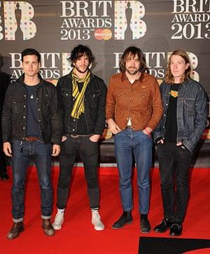 Brits 2013 red carpet: Brit Awards 2013 - Red Carpet Arrivals