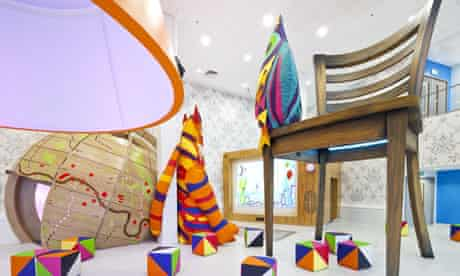 the supersized world of the Royal London Hospital's new play space