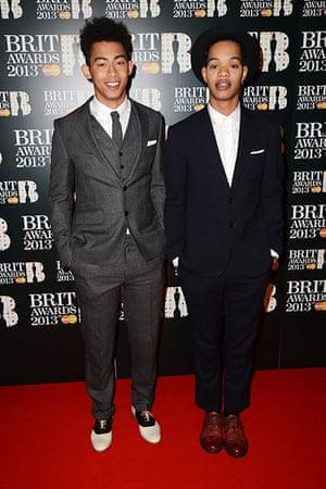 Brit Awards: Jordan 'Rizzle' Stephens and Harley 'Sylvester' Alexander-Sule