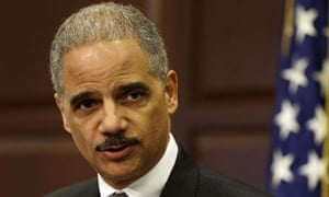 Eric Holder, the US attorney general