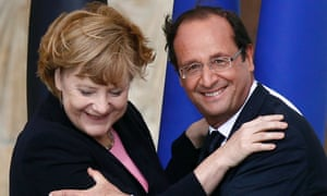 Holding on for dear life. Eurozone PMIs showed France declining even as Germany bounces back.