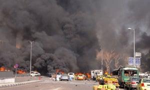 Car bomb in Damascus, Syria