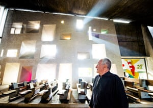 Architects' inspiration: Ted Cullinan in Ronchamp Chapel