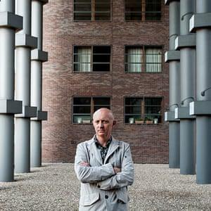 Architects' inspiration: Gerard Maccreanor in Piraeus building, Amsterdam