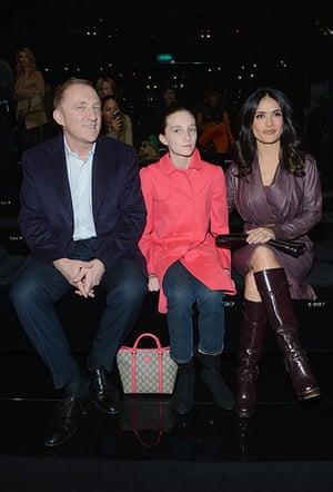 Milan Fashion Week 1: Gucci - Front Row - Milan Fashion Week