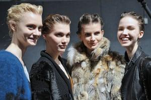 Milan Fashion Week 1: Alberta Ferretti - Backstage - MFW F/W 2013