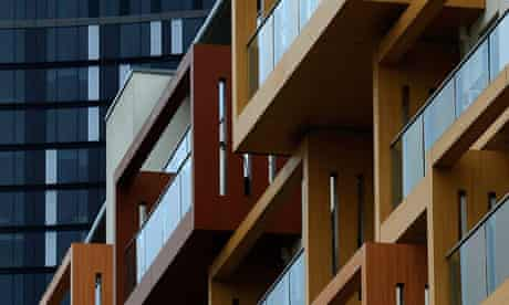 Blocks of flats in London