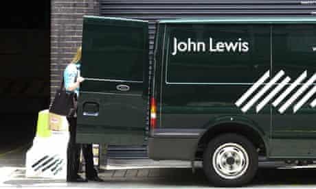 John Lewis van