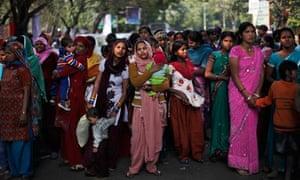 Women in Delhi