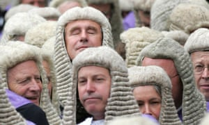 British judges and barristers