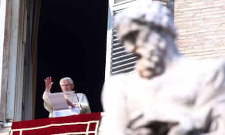 Pope Benedict XVI Delivers Angelus Blessing - February 17, 2013